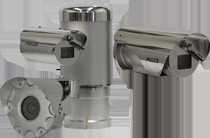 Pelco exsite enhanced 2 series CCTV cameras